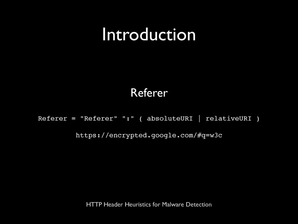 HTTP Header Heuristics for Malware Detection In...