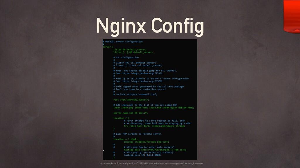Nginx Config IUUQTTUBDLPWFSGMPXDPNRVFTUJPO...