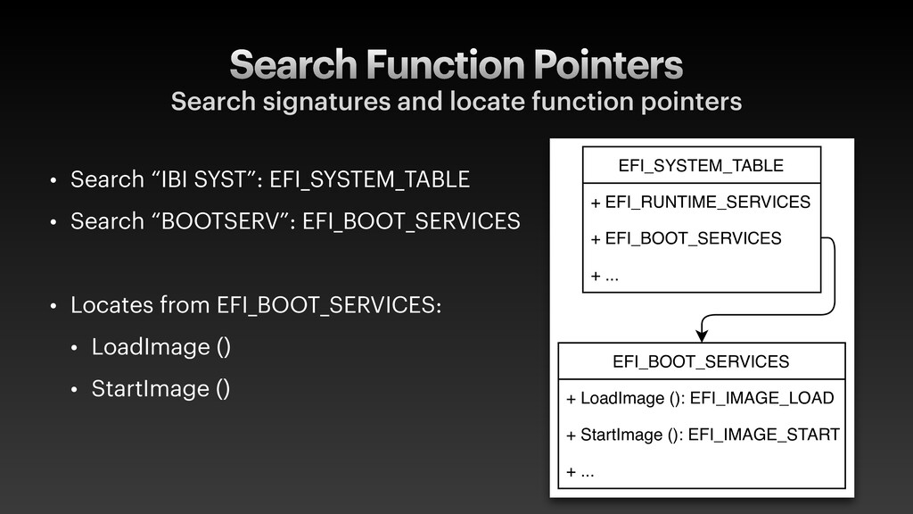 Search Function Pointers Search signatures and ...
