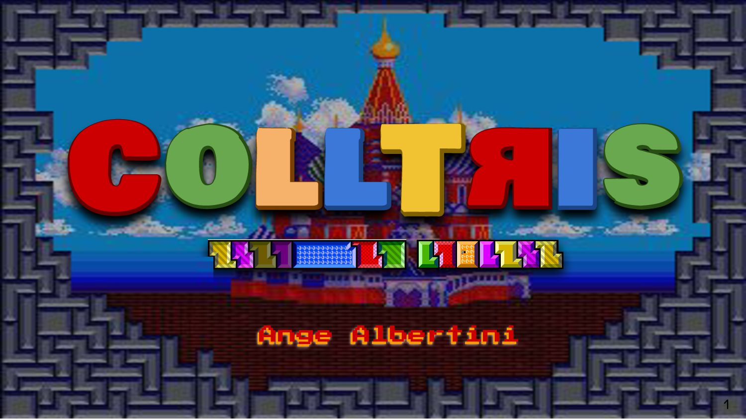 A workshop by LET's PLAY Marc Stevens COLLT IS ...