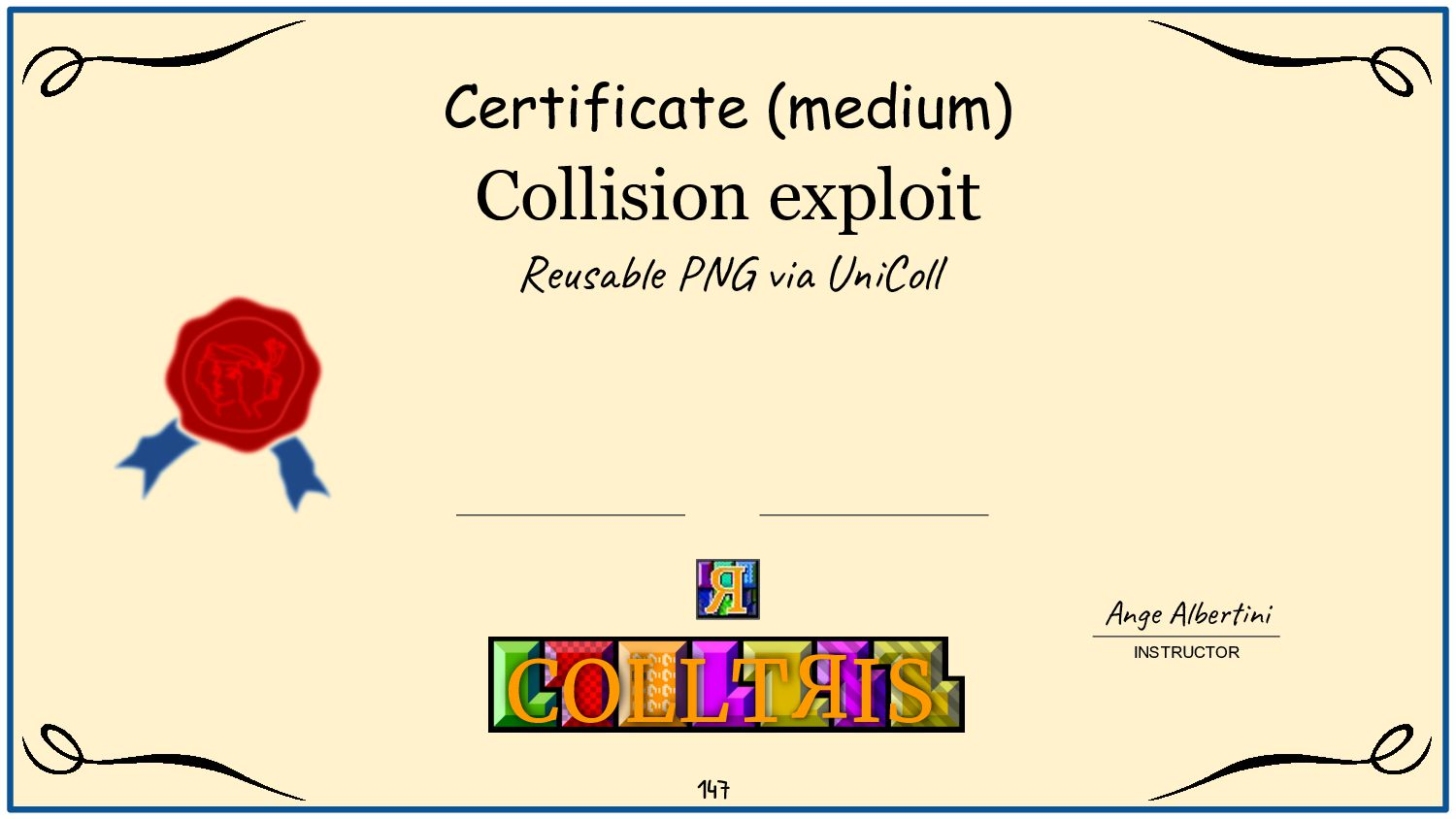 Correct CRCs in UniColliding-PNG ? - CRCs are i...