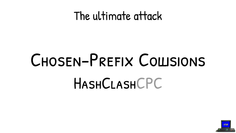 Our third block: a Chosen Prefix hash Collision ...
