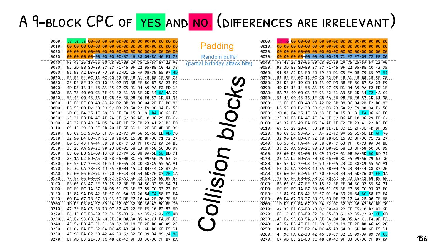 So, we have two files. Any pair of files. We can ...