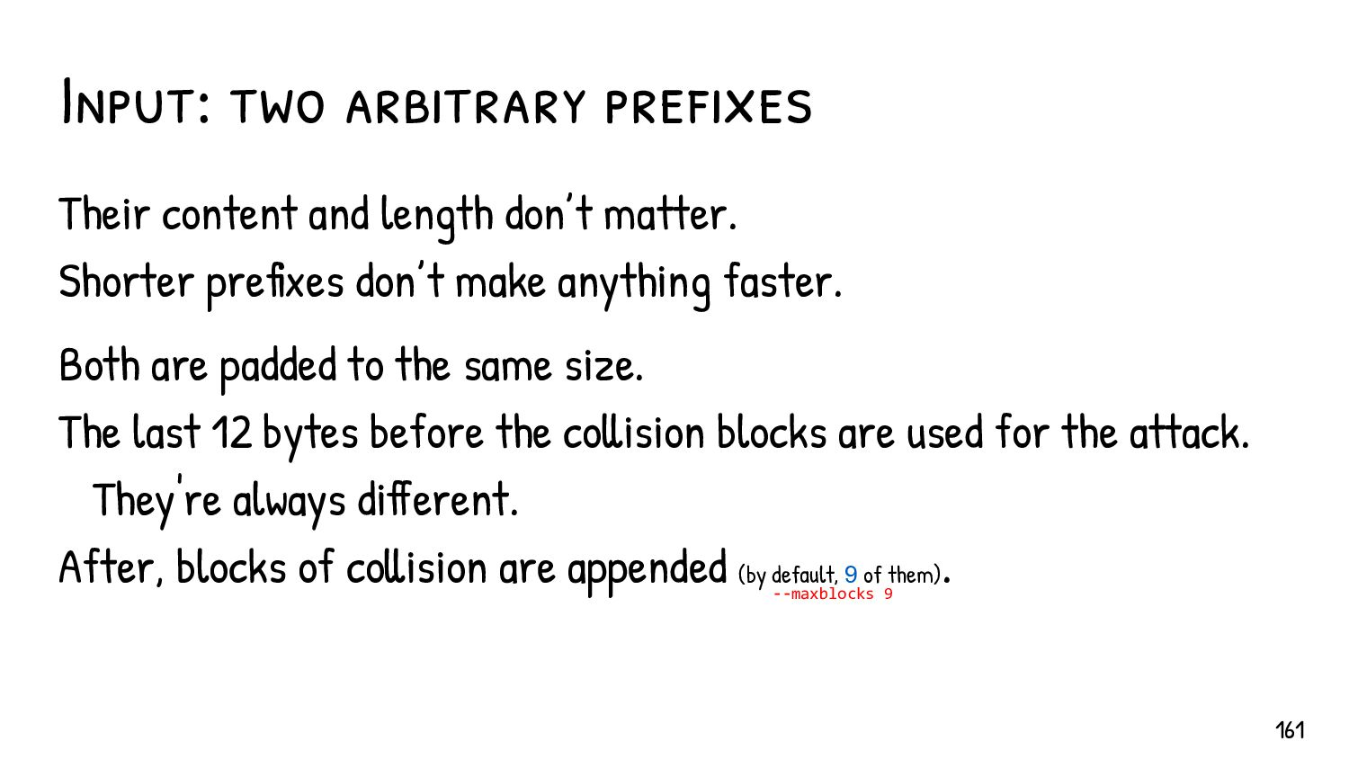 The 2 steps of a CPC First, an single Birthday ...