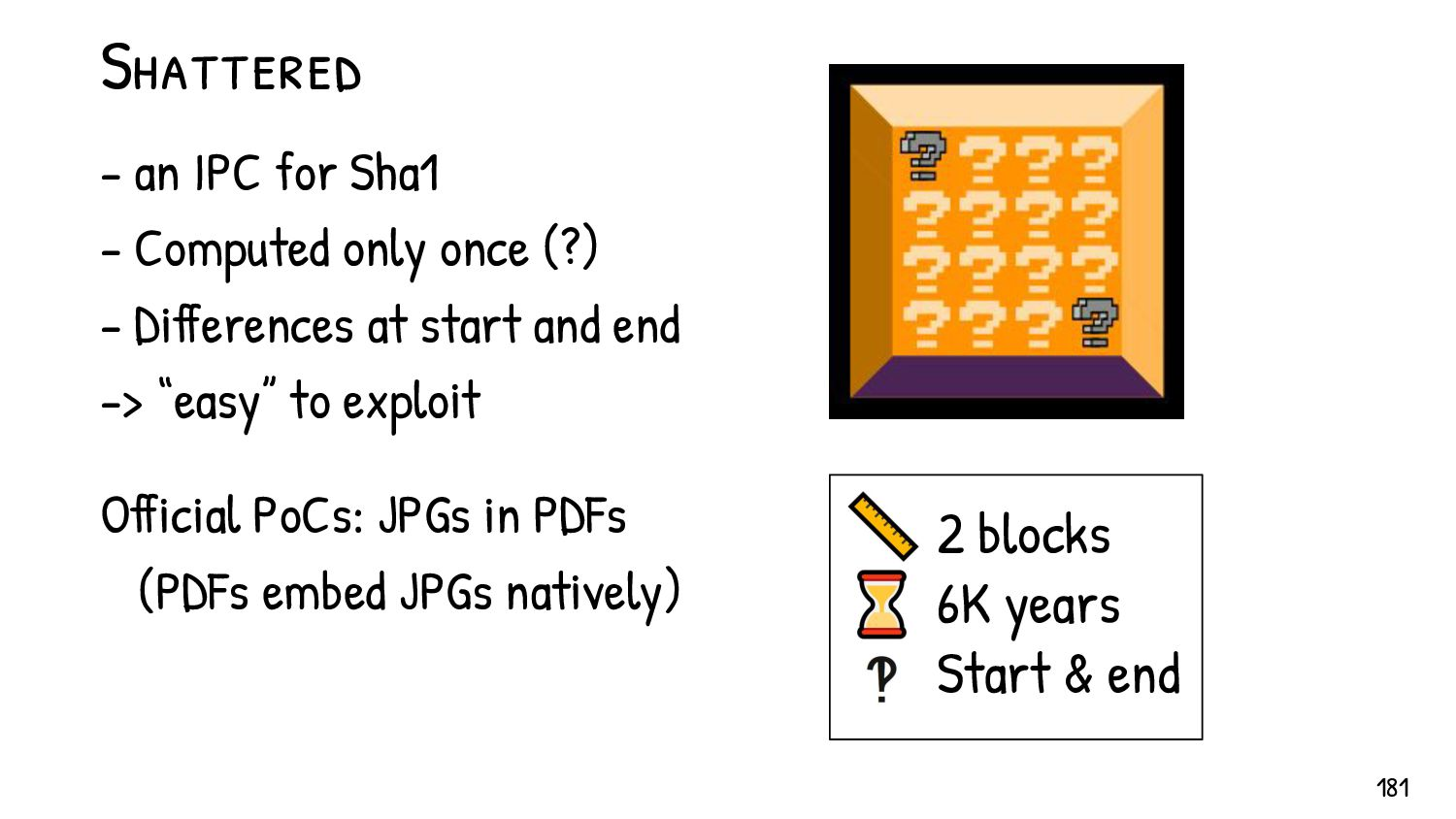 Most formats declare Lengths before Type (LTV):...