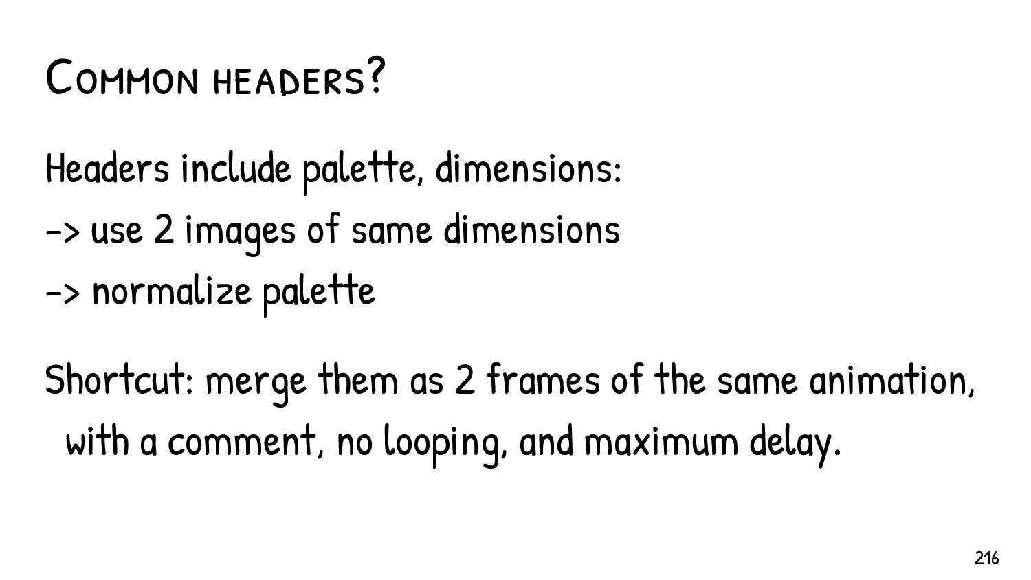 Collision exploit Instant GIF collision via Fas...