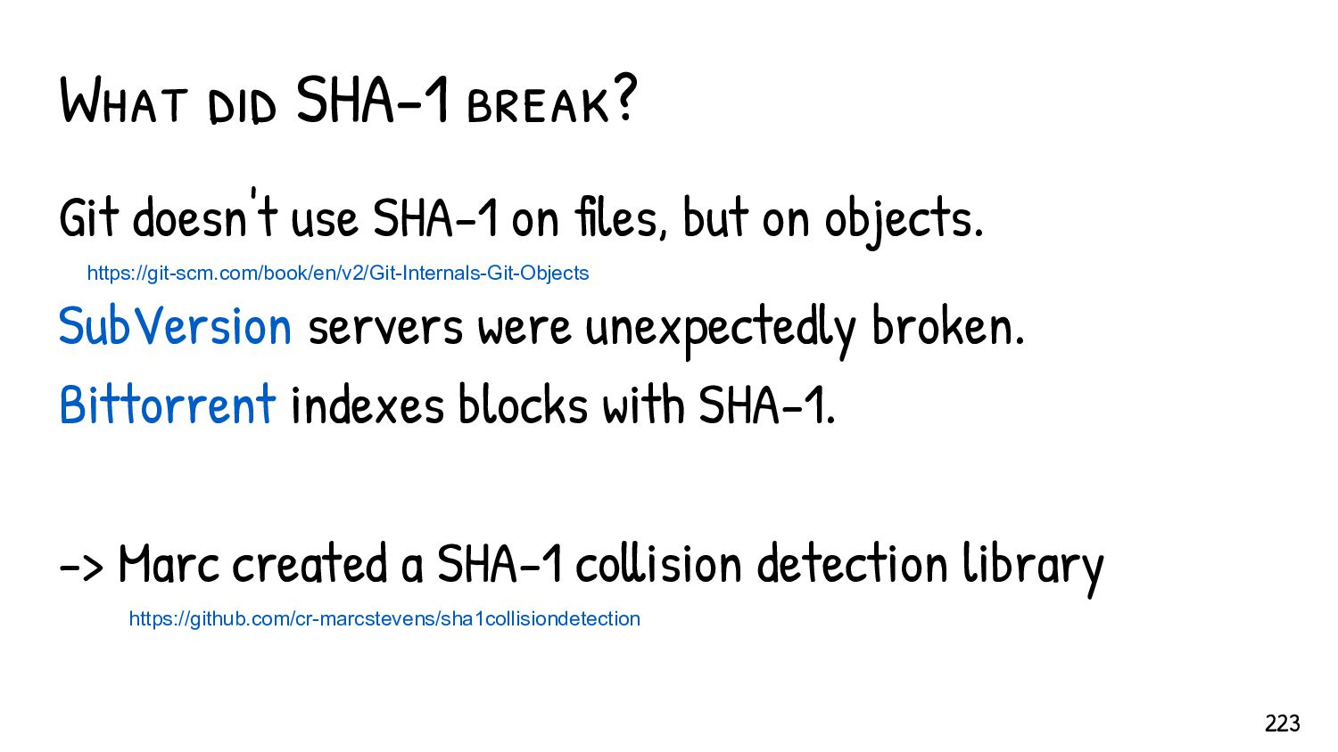 SHA-1: faster practical CPC (never computed yet...