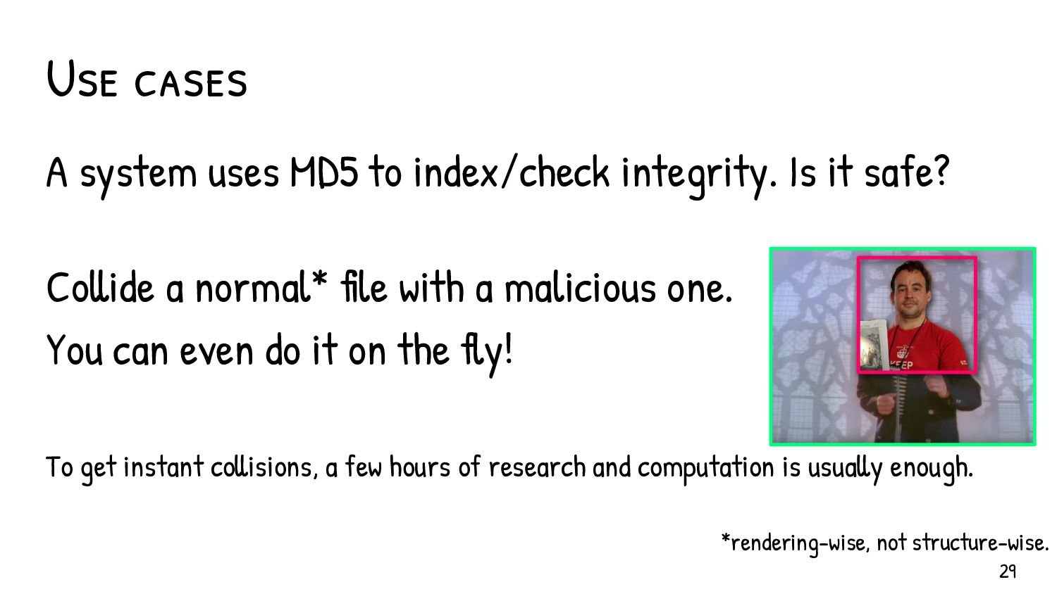 Having troubles to convince? Let files do the ta...