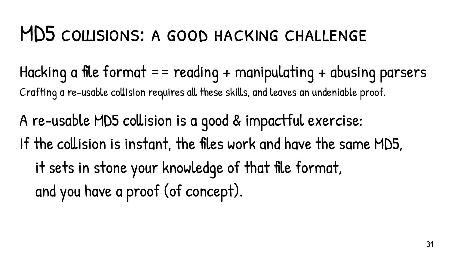 .Don't be scared…Hash Functions Attacks on http...