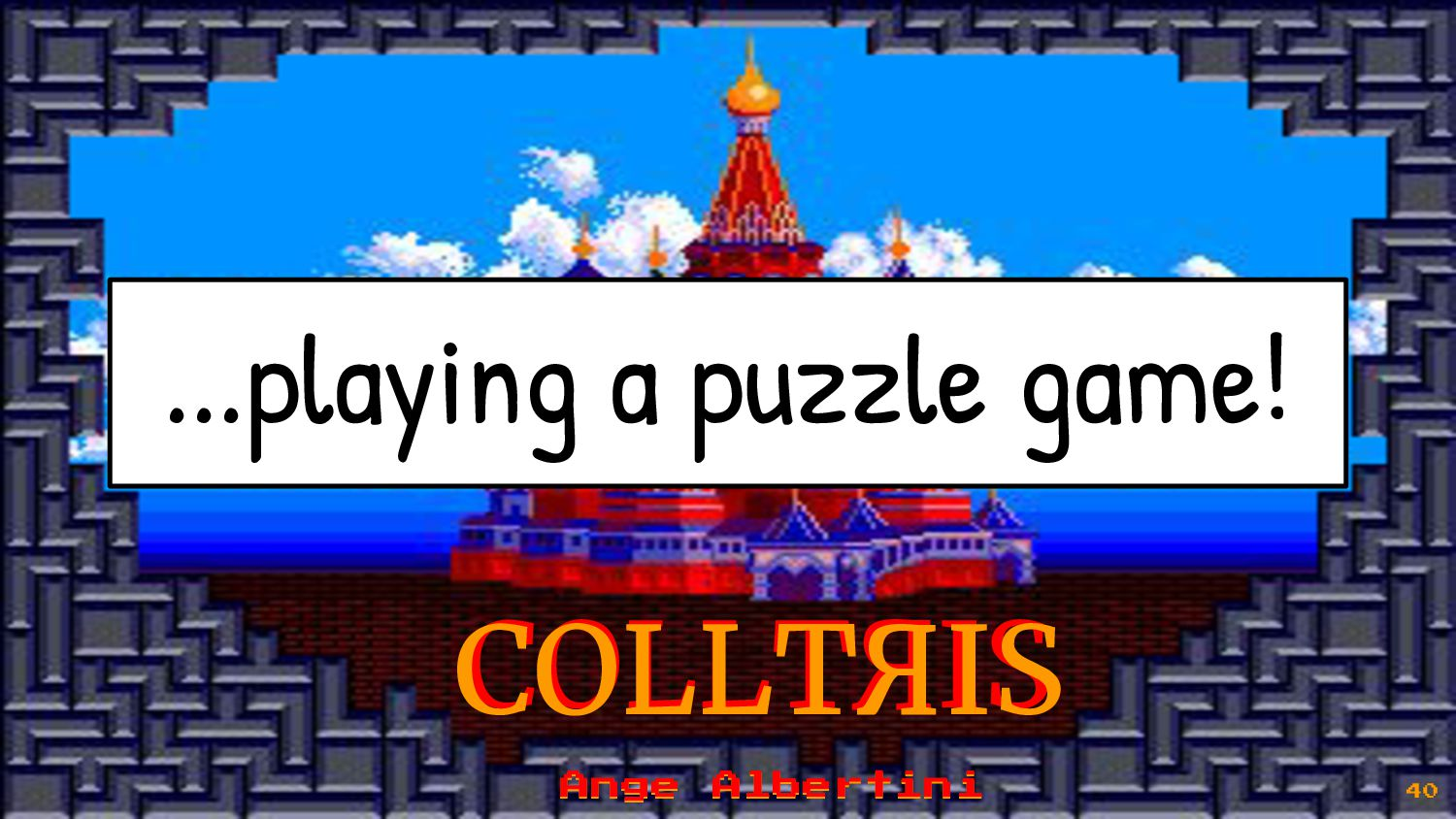 You just need to know the rules of each block! ...
