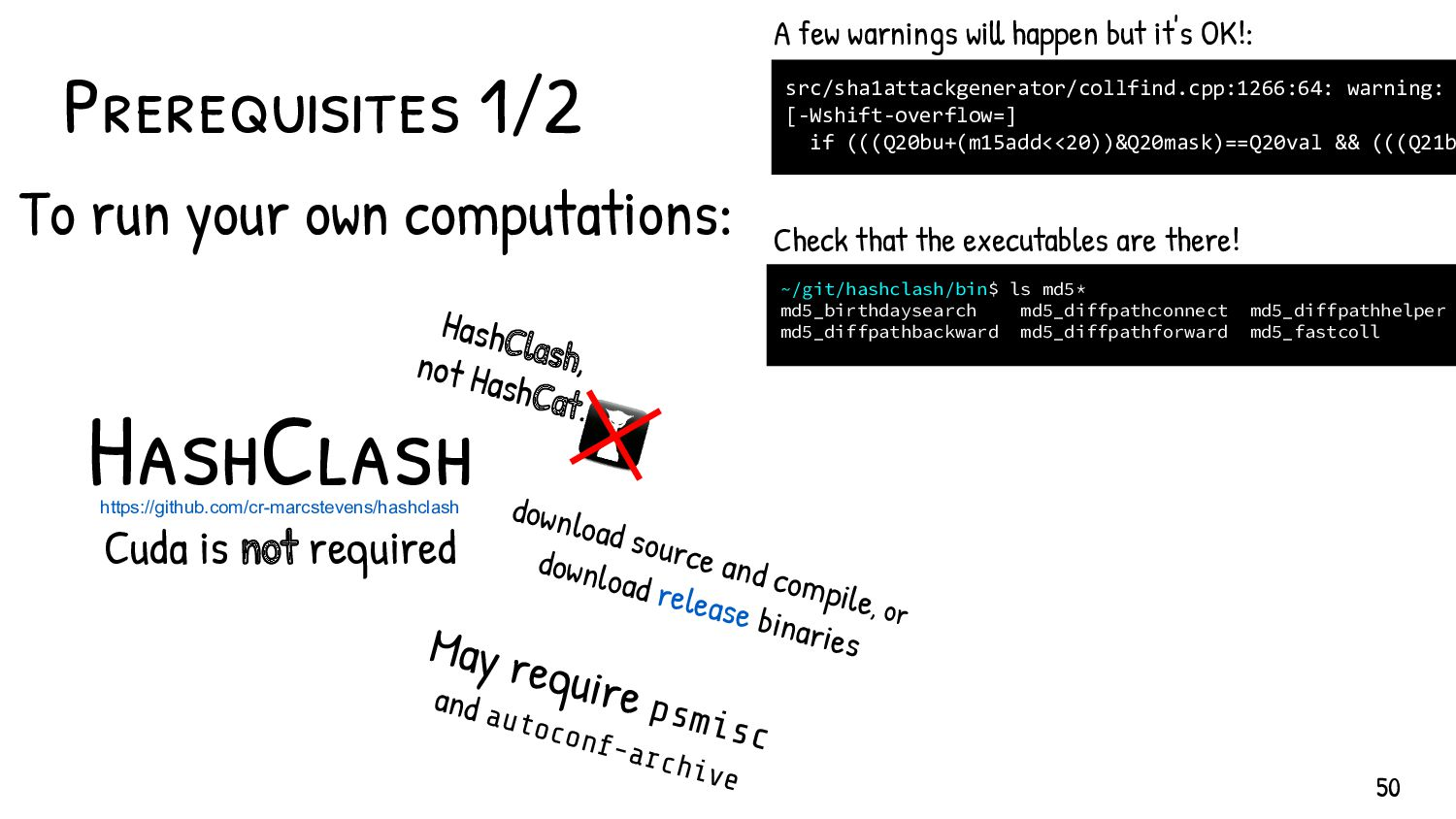 Can't compile? Computation too slow? Compiling ...