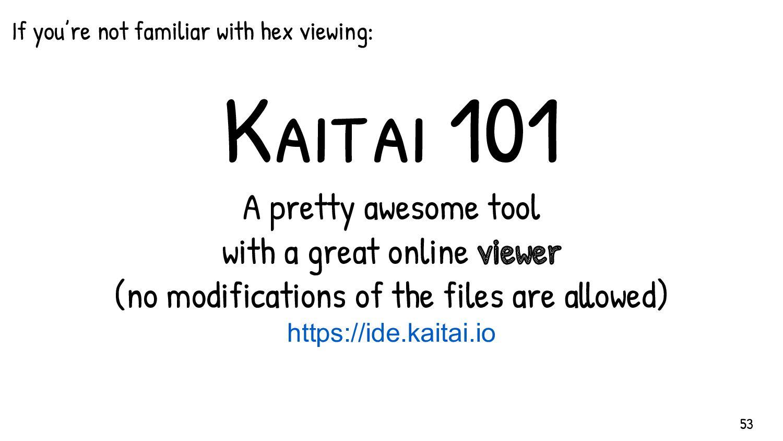 Kaitai in a nutshell - Uses YAML-based parsers....