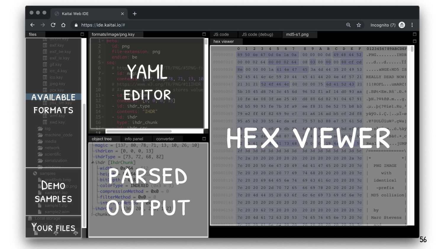 If you're not familiar with format manipulation...