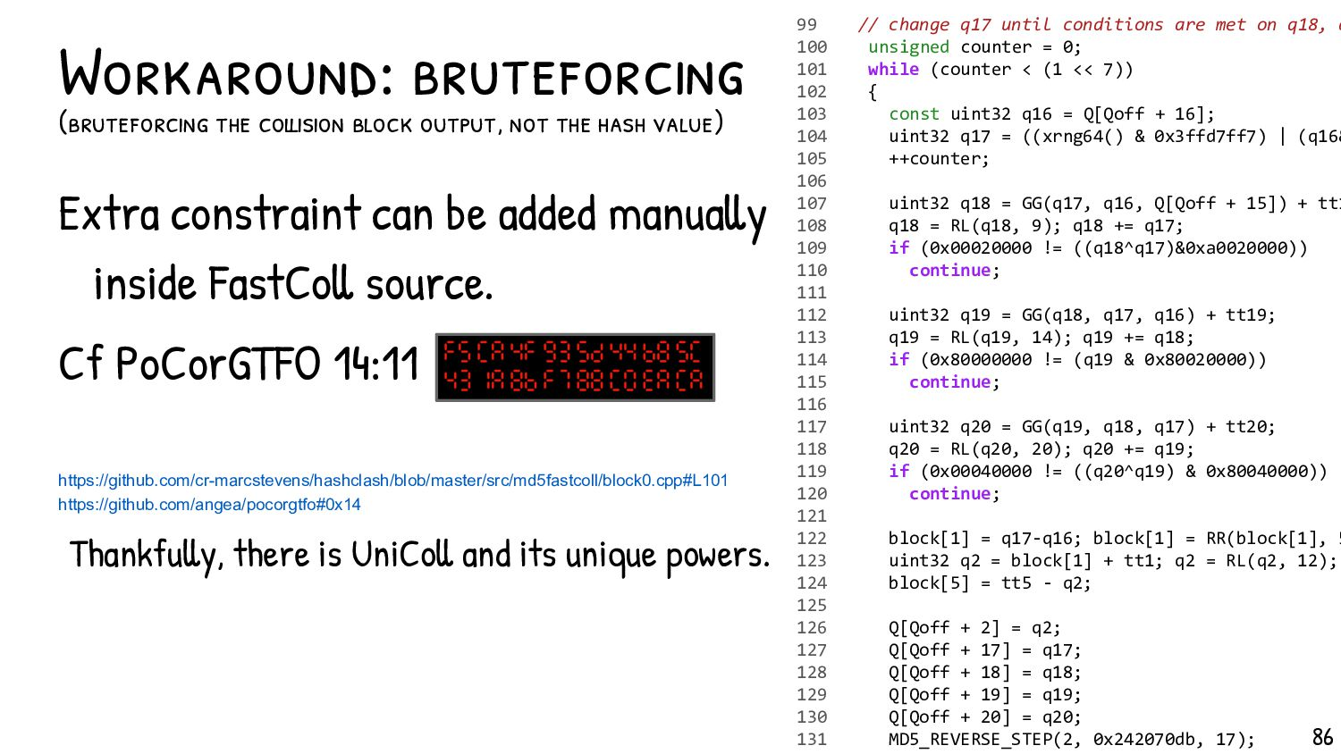 Instant computation doesn't give any instant ex...