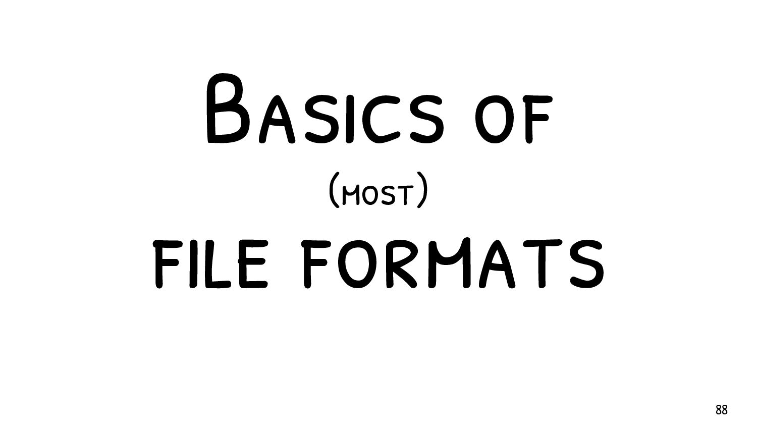 A typical general structure header : required a...