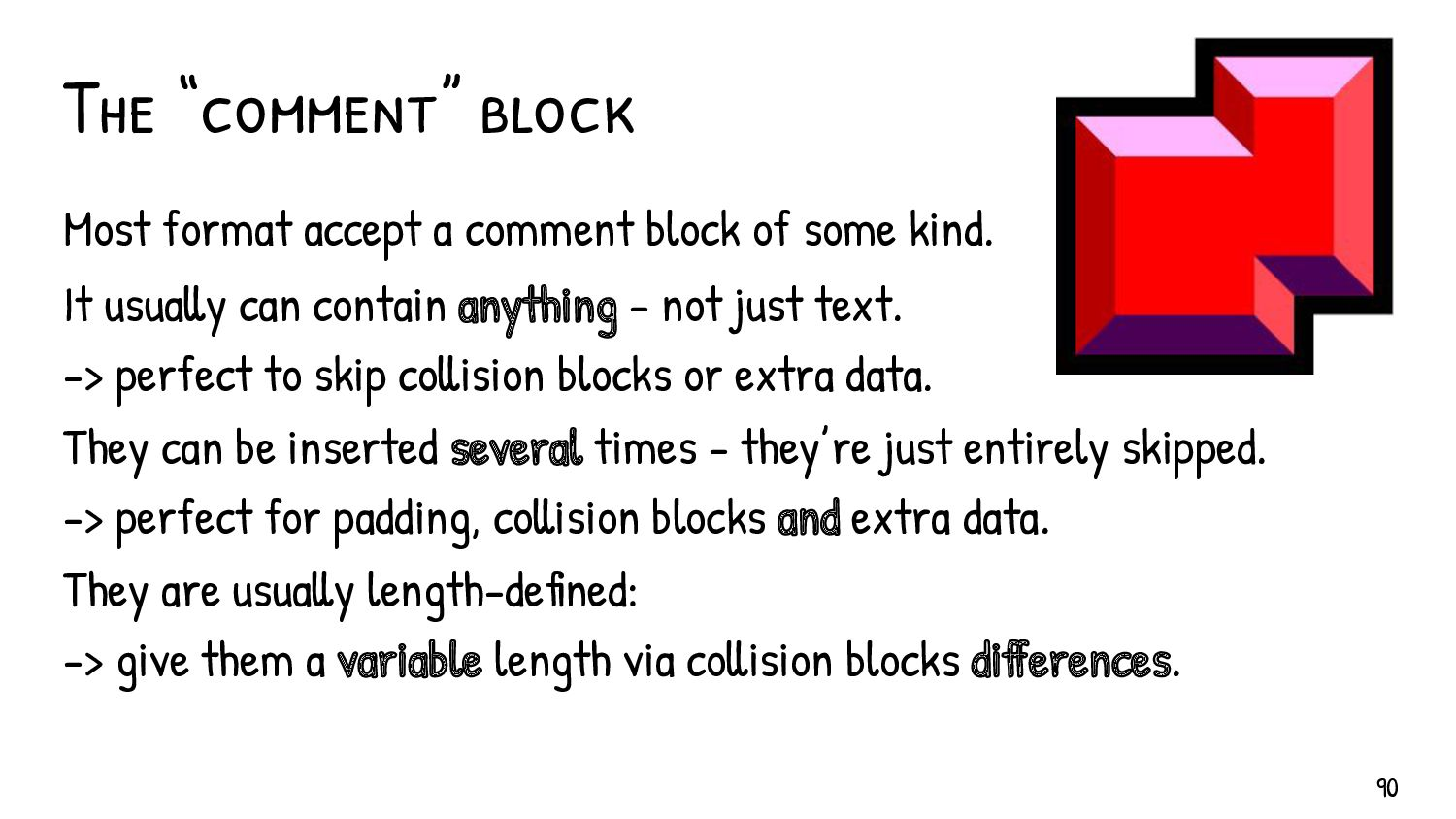 clues Robust parsers are 'detectives' Most files...