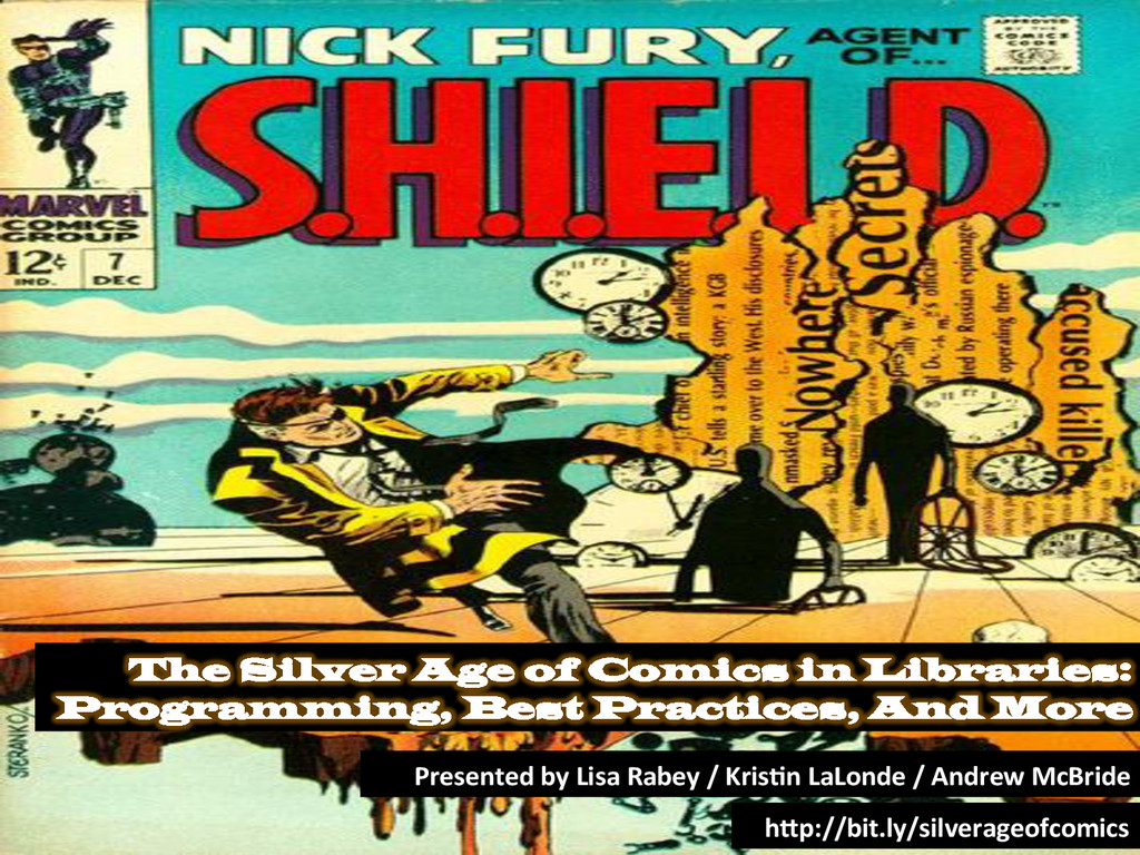The Silver Age of Comics in Libraries: Programm...