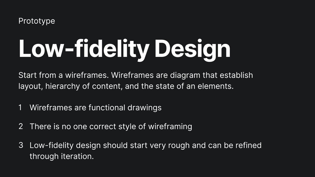 Low-fidelity Design Wireframes are functional d...