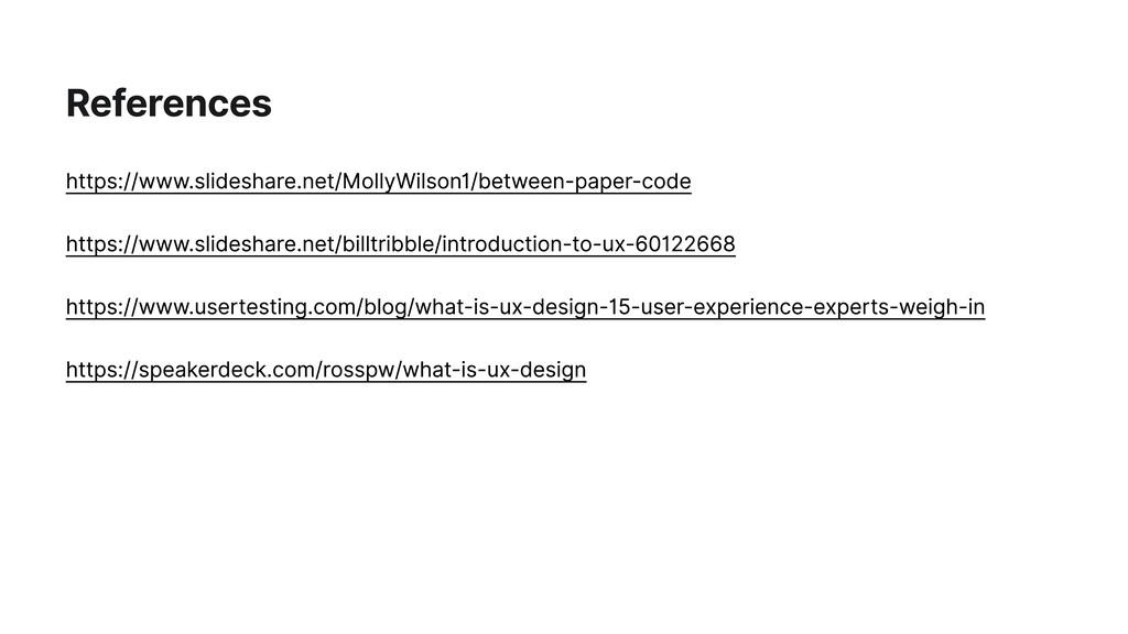 References https://www.slideshare.net/MollyWils...