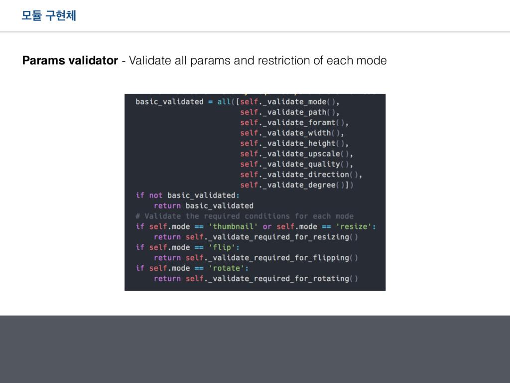 ݽٕ ҳഅ Params validator - Validate all params a...
