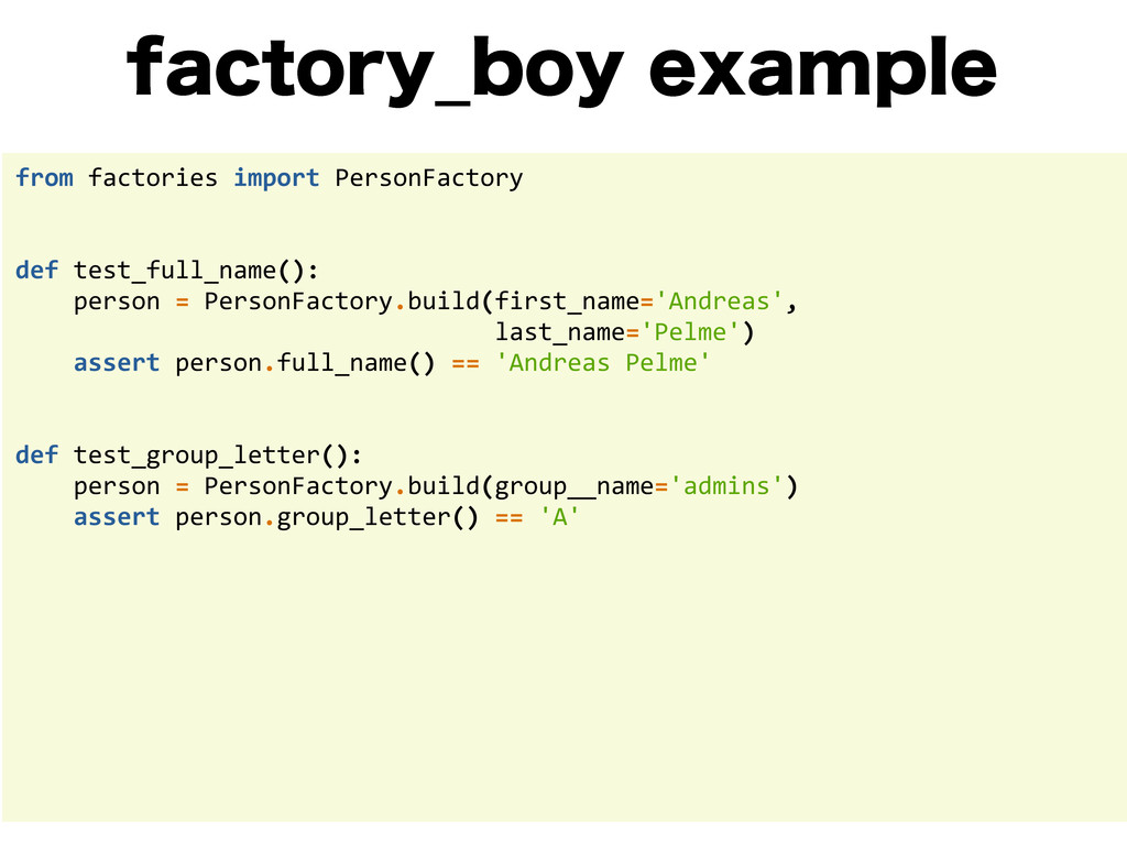 GBDUPSZ@CPZFYBNQMF from factories import...