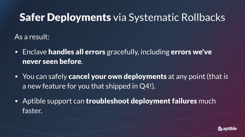 Safer Deployments via Systematic Rollbacks As a...