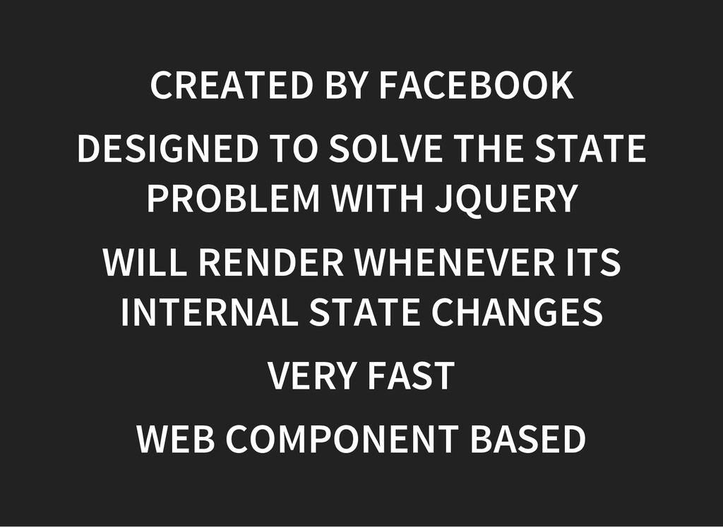 CREATED BY FACEBOOK DESIGNED TO SOLVE THE STATE...