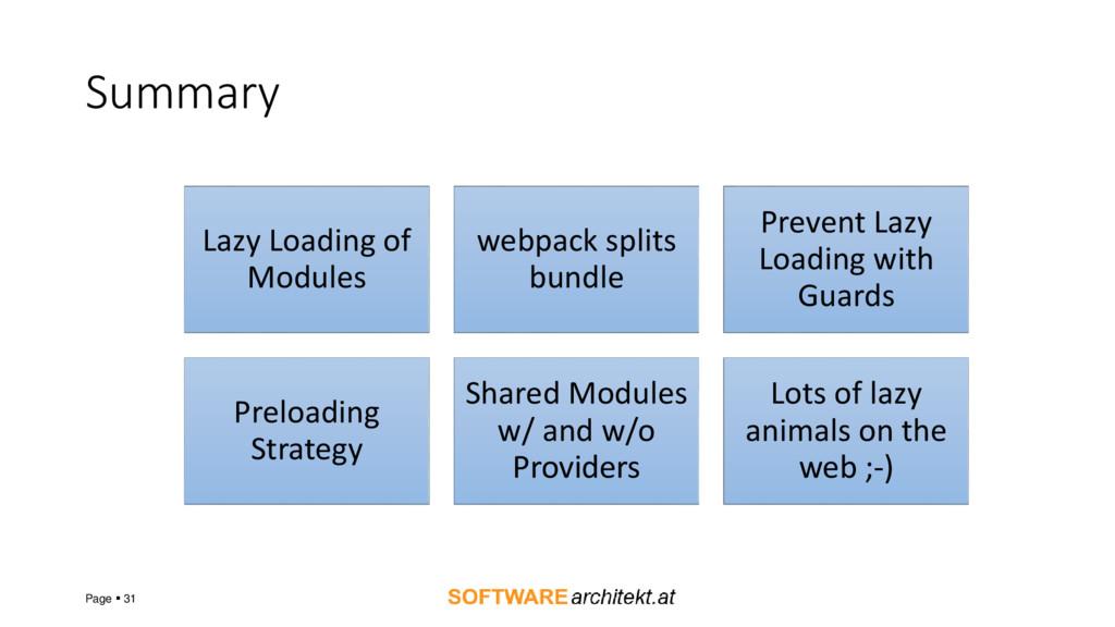 Summary Page  31 Lazy Loading of Modules webpa...