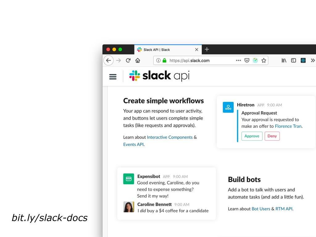 bit.ly/slack-docs