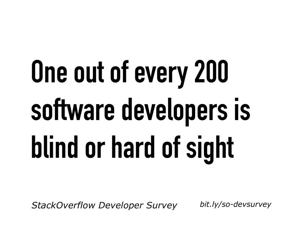 StackOverflow Developer Survey bit.ly/so-devsur...