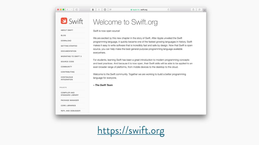 https://swift.org