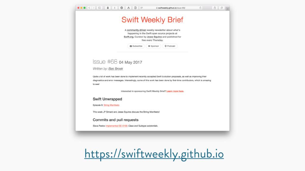 https://swiftweekly.github.io