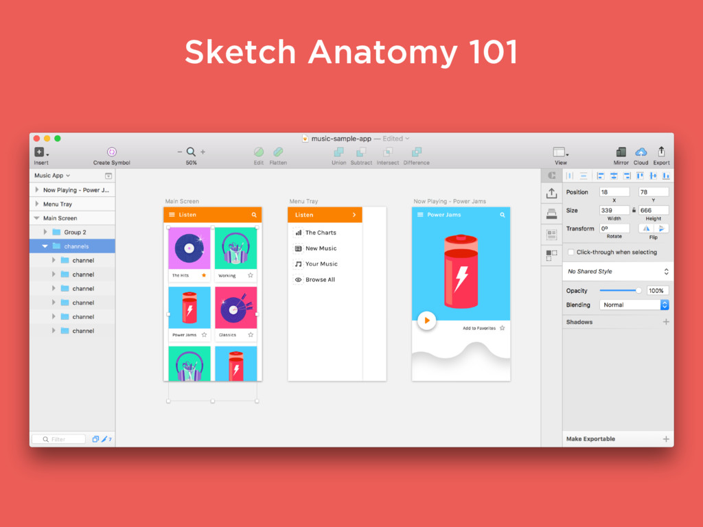 Sketch Anatomy 101