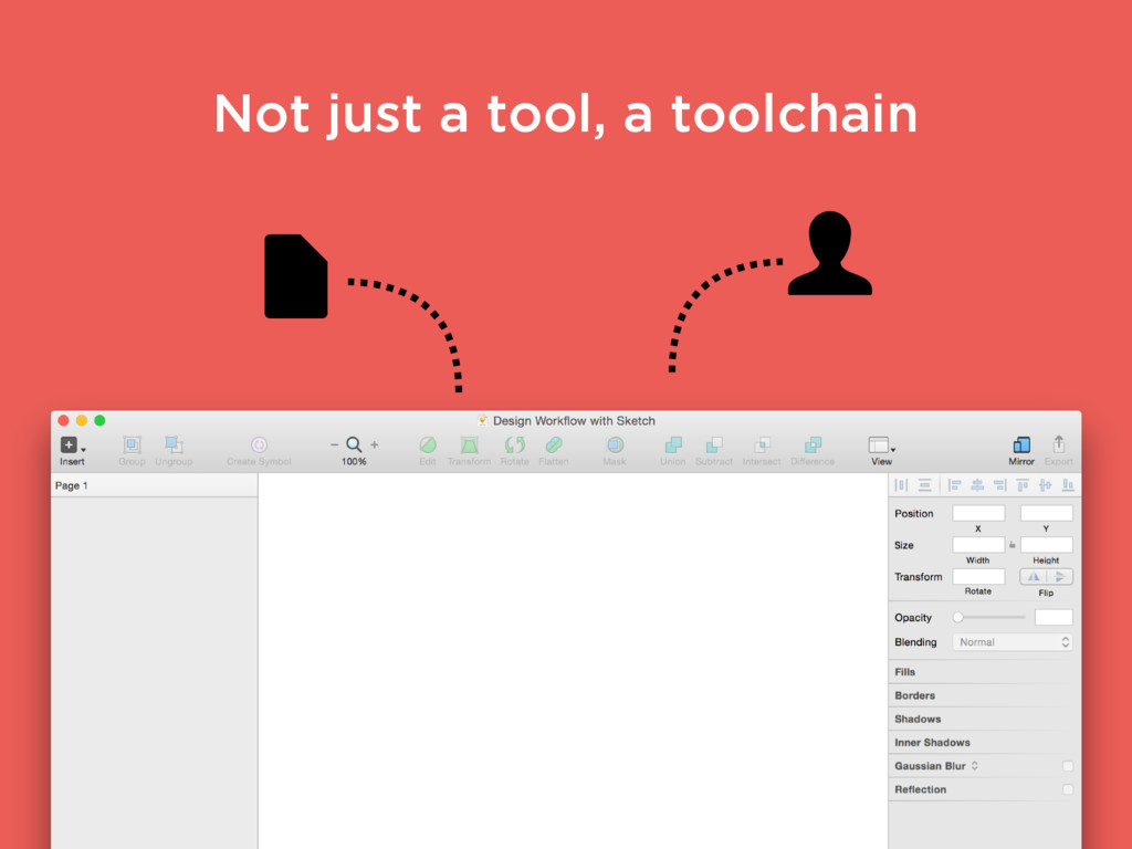 Not just a tool, a toolchain
