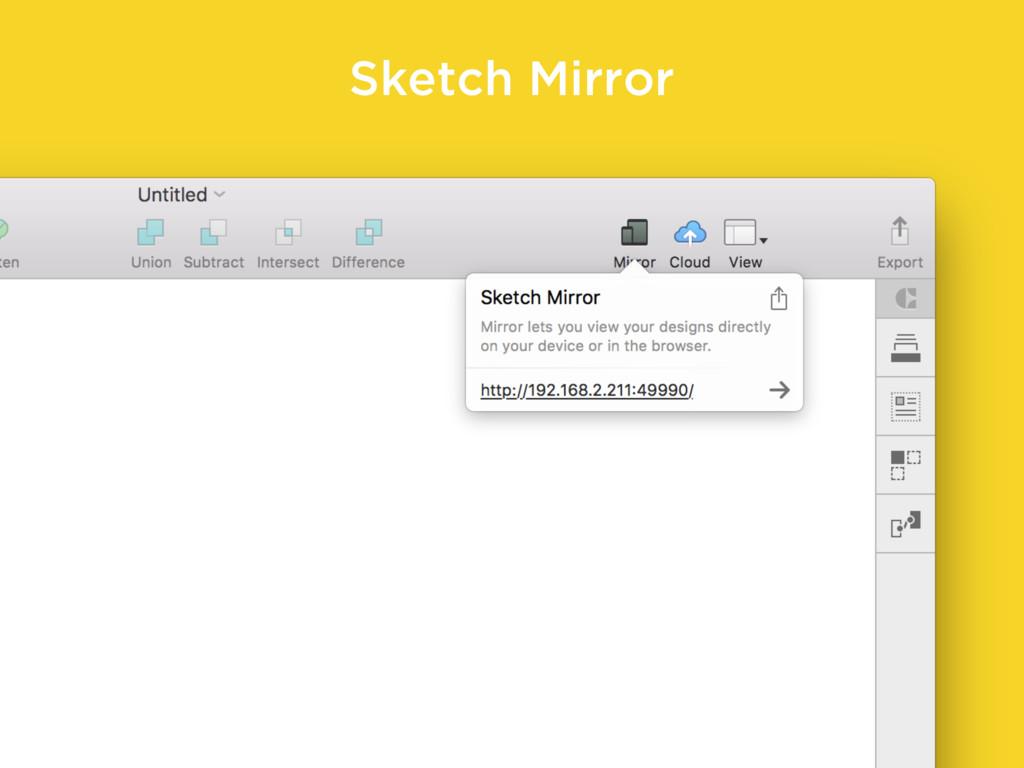 Sketch Mirror