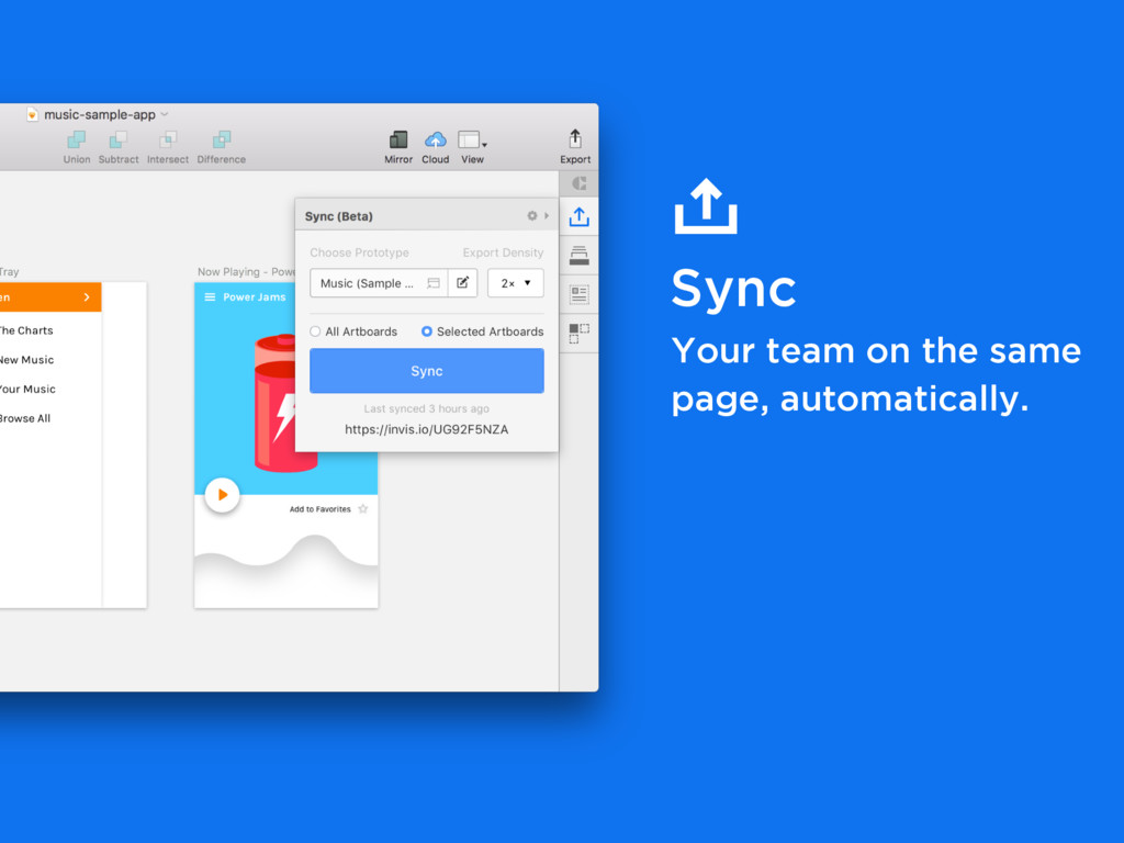 Sync Your team on the same page, automatically.