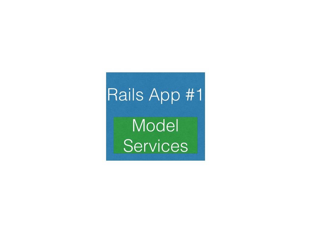 Rails App #1 Model Services