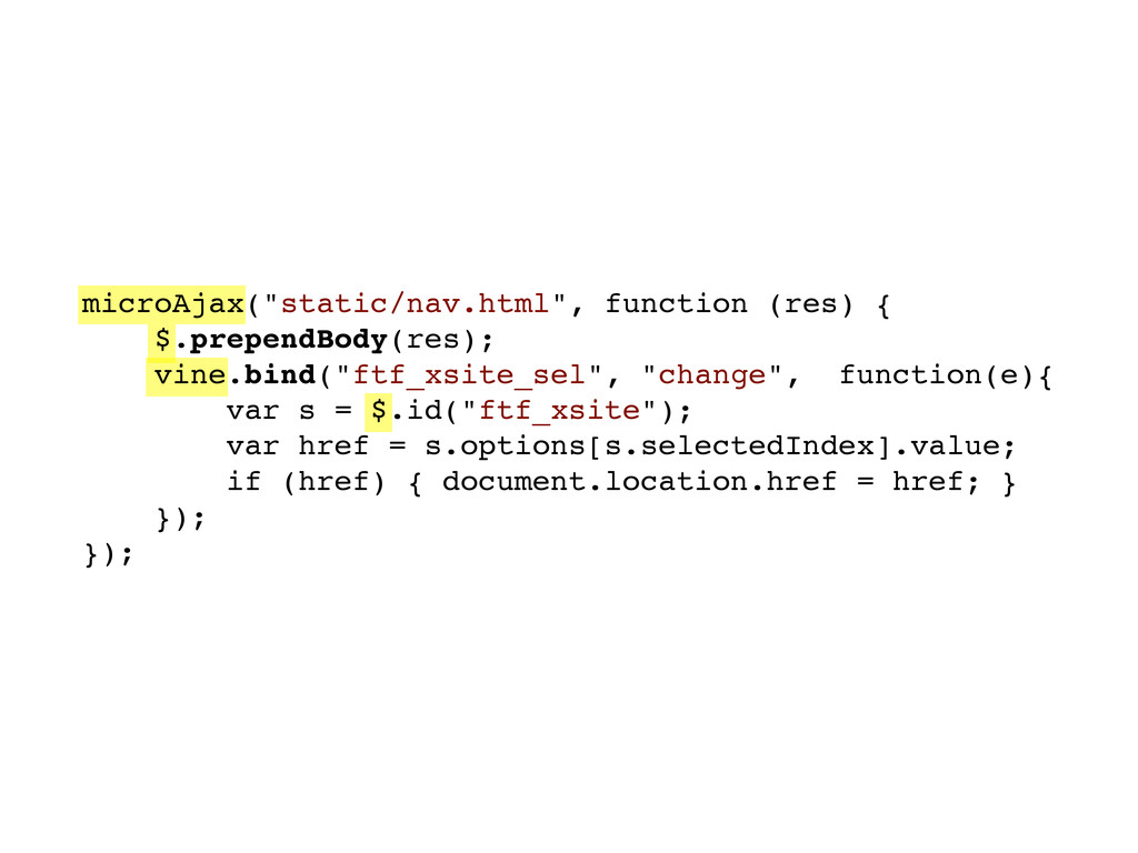 "microAjax(""static/nav.html"", function (res) { $..."