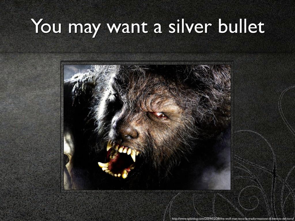 You may want a silver bullet http://www.splattl...