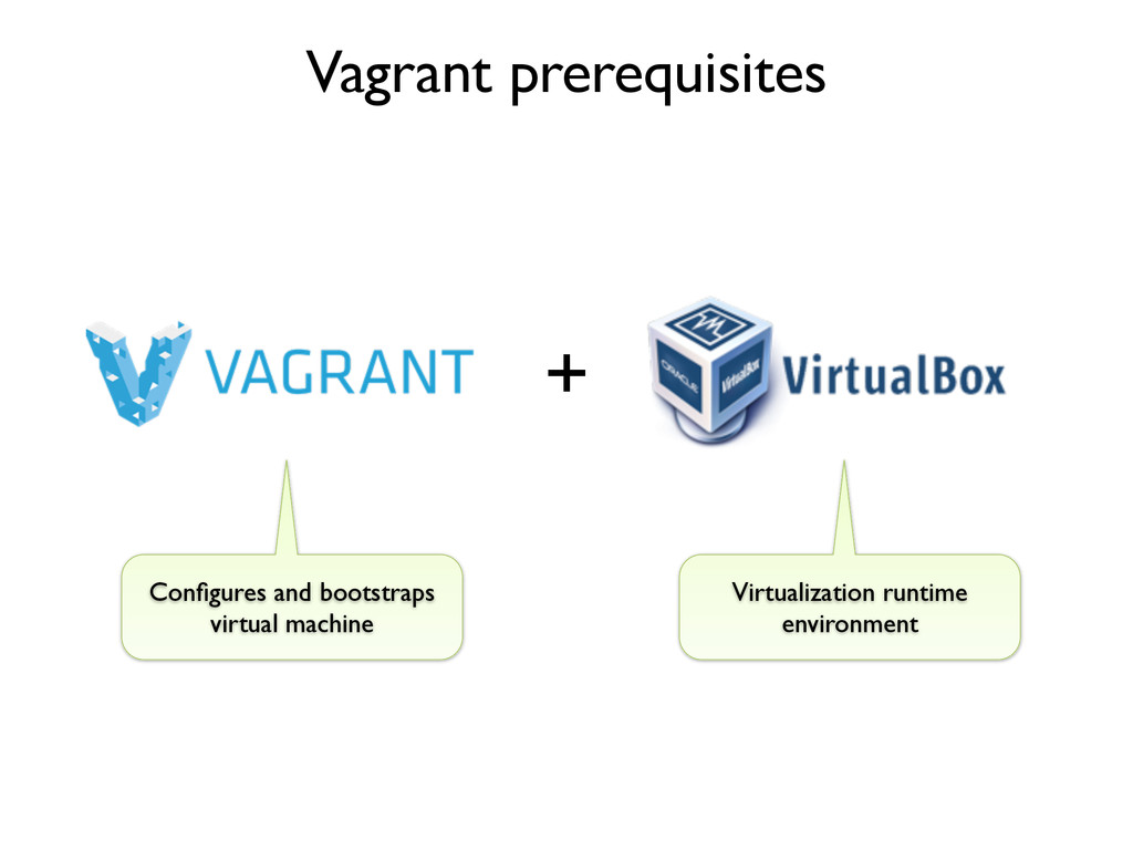 Vagrant prerequisites Configures and bootstraps ...
