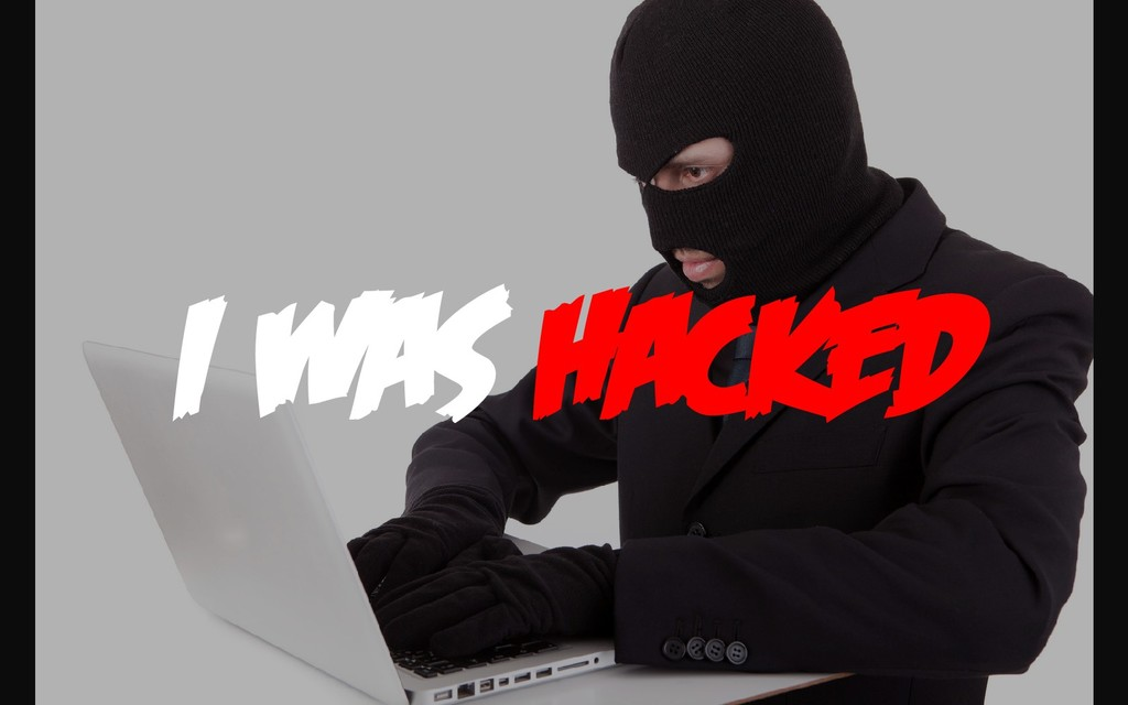 I WAS HACKED