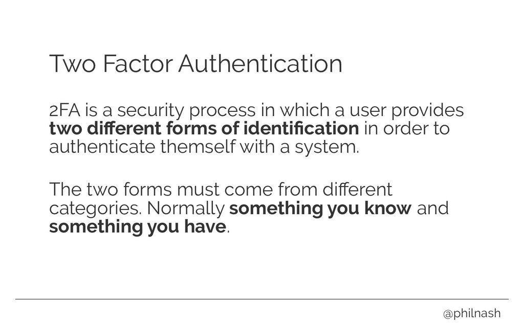 Two Factor Authentication 2FA is a security pro...