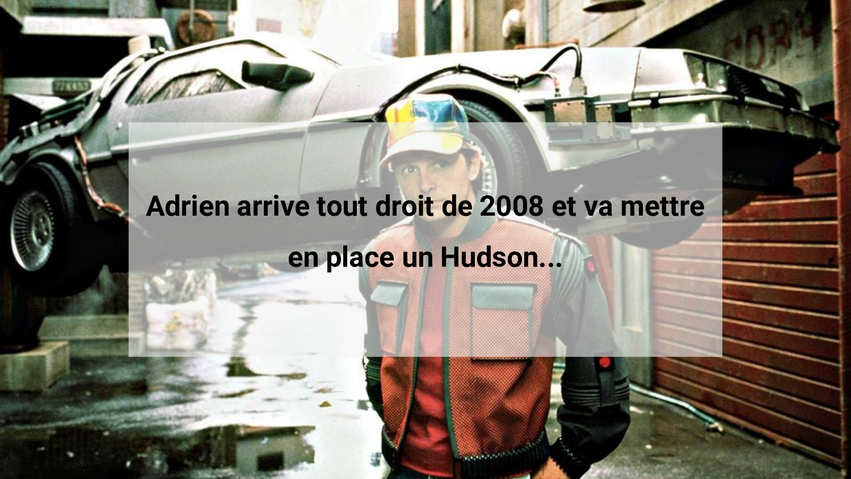 Adrien arrive tout droit de 2008 et va mettre e...