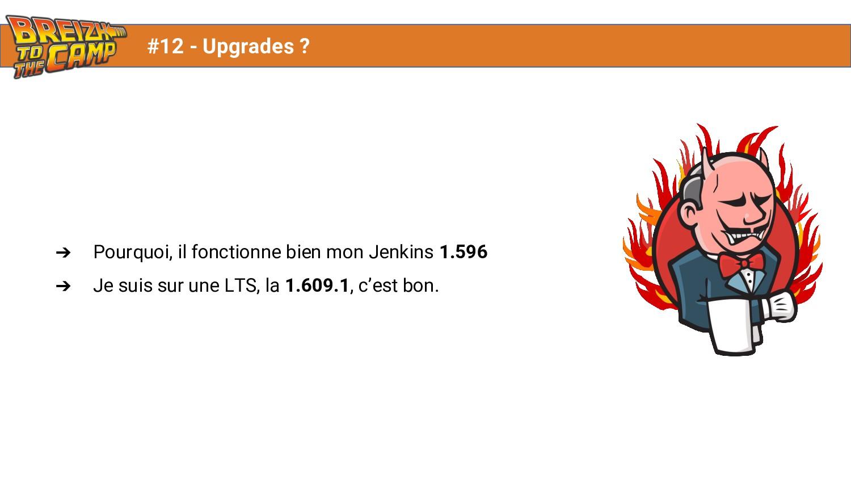 ➔ Pourquoi, il fonctionne bien mon Jenkins 1.59...