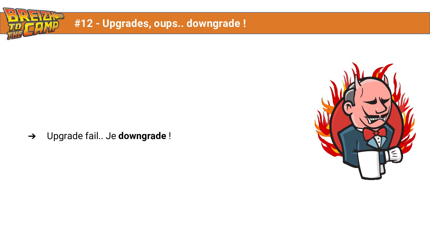 ➔ Upgrade fail.. Je downgrade ! #12 - Upgrades,...