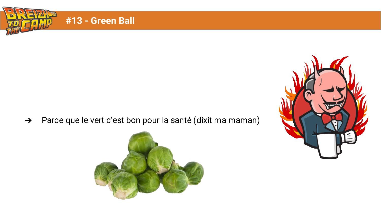 ➔ Parce que le vert c'est bon pour la santé (di...