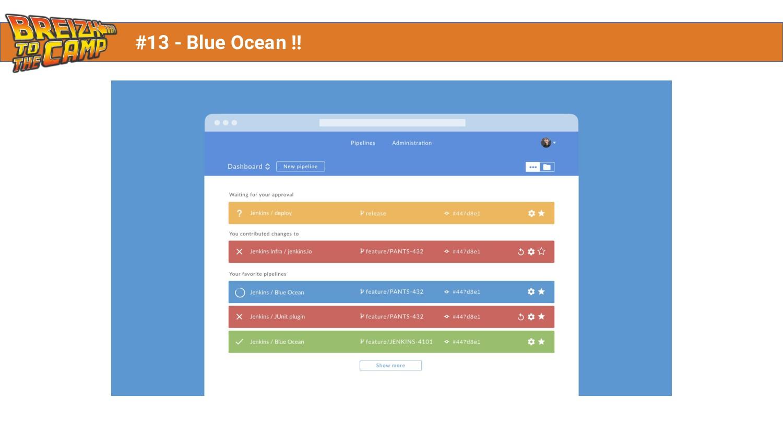 #13 - Blue Ocean !!