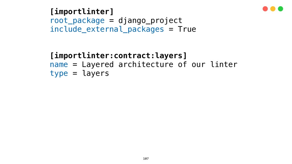 [importlinter] root_package = django_project in...