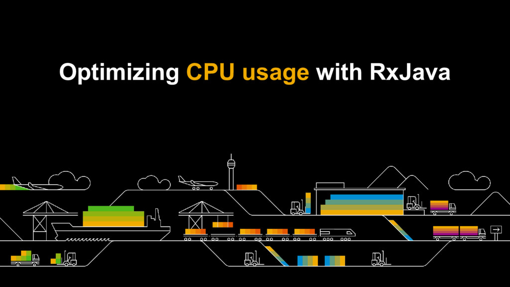 Optimizing CPU usage with RxJava