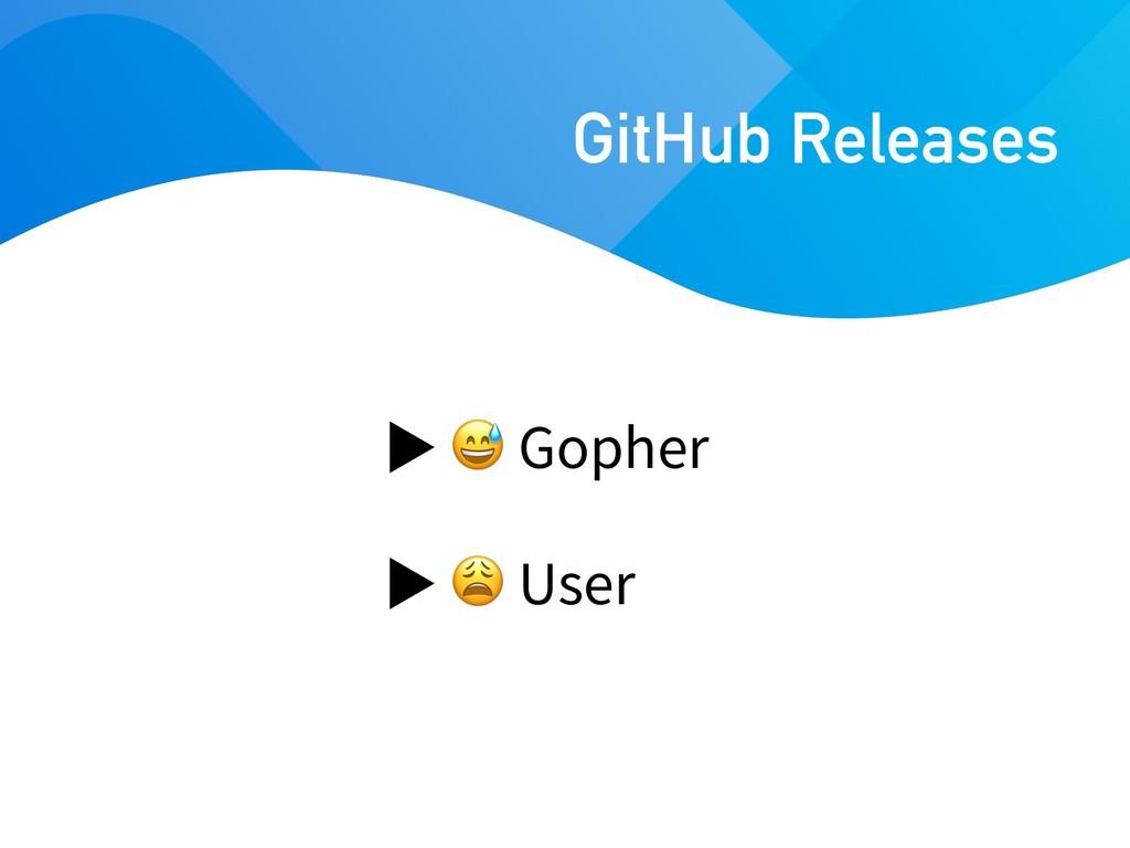 Gopher  User GitHub Releases